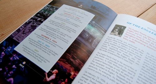 The Englert Theatre - Centennial booklet